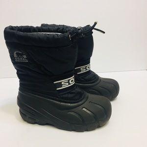 Sorel Black Boots. Size 12